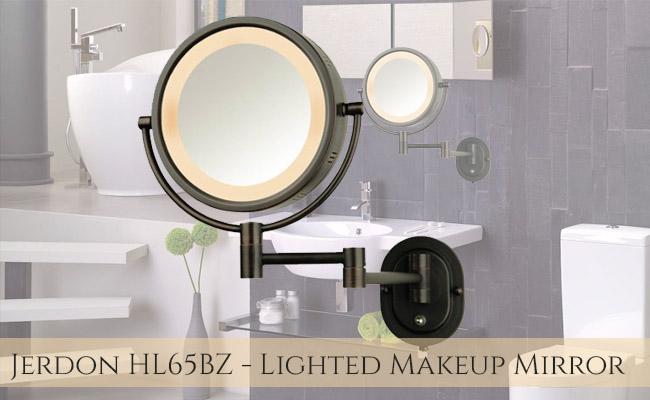 Jerdon HL65BZ Lighted Makeup Mirror Review
