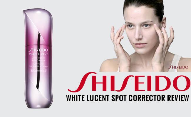 Shiseido White Lucent Spot Corrector Review