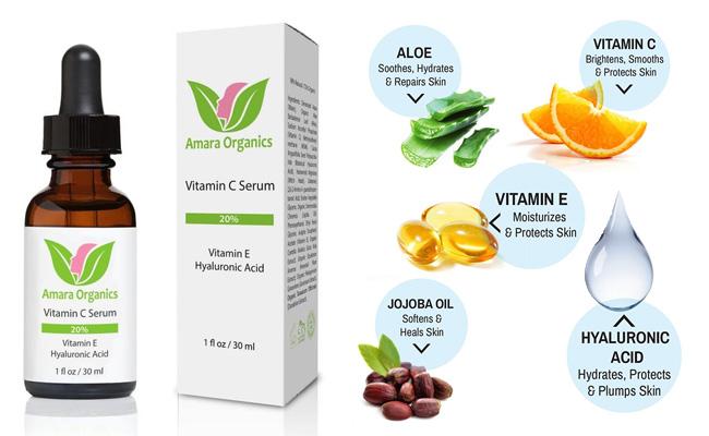 Amara Organics Vitamin C Serum Review