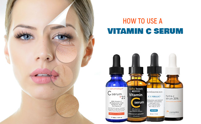 How to Use a Vitamin C Serum