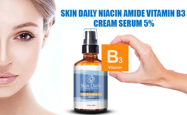 Skin Daily Niacin Amide Vitamin B3 Cream Serum Review