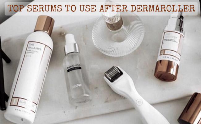 Top Serums To Use After Dermaroller Reviews