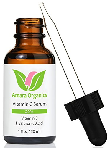 Amara Organics Vitamin C serum. review