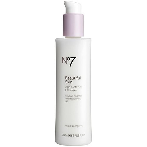 BOOTS No7 Beautiful Skin Age Defence Cleanser review