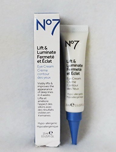 Boots No7 Lift and Luminate Triple Action Eye Cream review