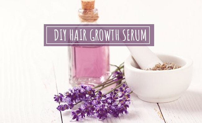 DIY hair growth serum