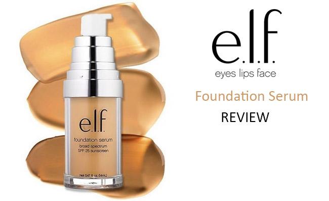 Elf Foundation Serum Review