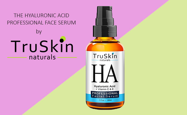 Hyaluronic Acid Professional Face Serum by TruSkin Naturals Review