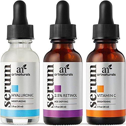 Art Naturals Anti-Aging Serum set review