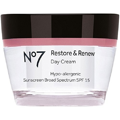 Boots No7 Restore & Renew Day Cream, SPF 15