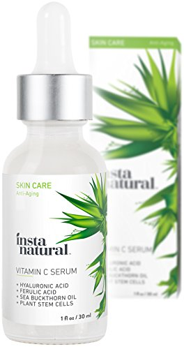 InstaNatural Vitamin C Serum with Hyaluronic Acid & Vit E review