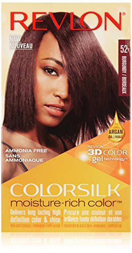 Revlon Colorsilk Moisture Rich Hair Color, Burgundy No. 5 review