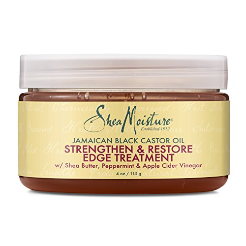 SheaMoisture 4 oz. Jamaican Black Castor Oil Strengthen, Grow & Restore Edge Treatment review