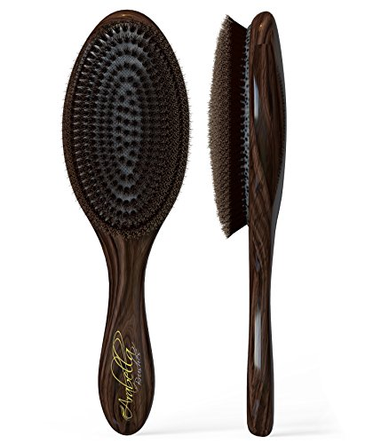 100% Natural Boar Bristle Hair Brush by Arabella Brushes review