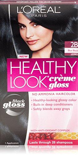 3 Pk, L\'Oreal Paris Healthy Look Crème Gloss, Blue Blackis review
