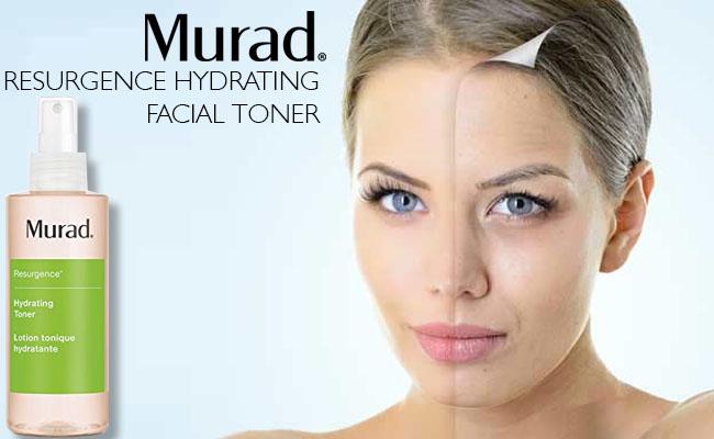 Murad Resurgence Hydrating Facial Toner Review