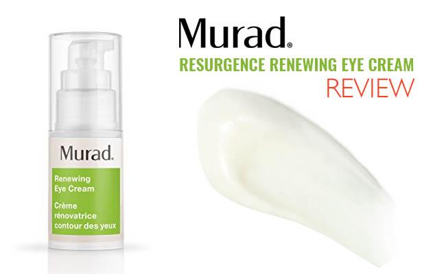 Murad Resurgence Renewing Eye Cream Review