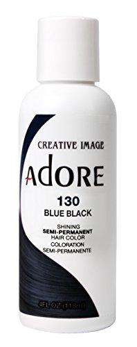 Adore Semi-Permanent Haircolor #130 Blue Black review
