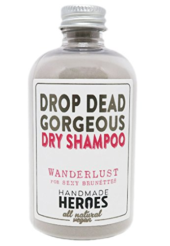 All Natural, Vegan Dry Shampoo Powder for Brunettes review