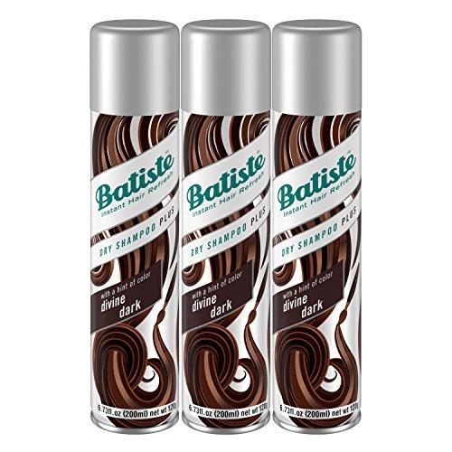 Batiste Dry Shampoo, Divine Dark, 3 Count review