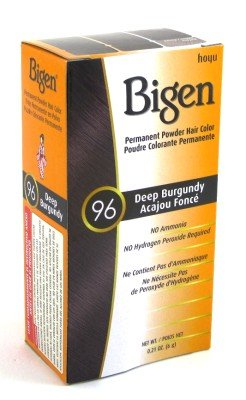 Bigen Permanent Powder Hair Color, Deep Burgundy review