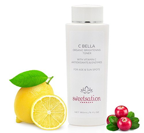 CBella Organic Brightening Toner with Vitamin C and Enzymes