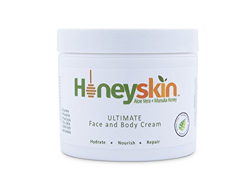 Honeyskin Organics Aloe Vera + Manuka Honey Face and Body Cream
