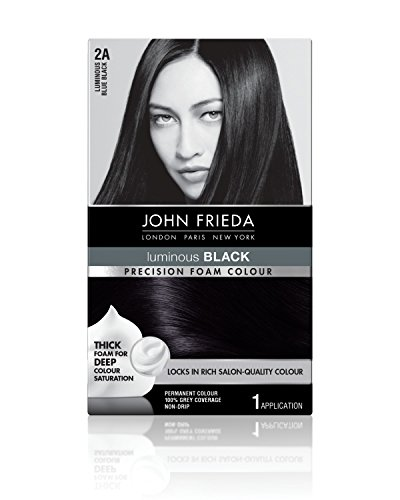 John Frieda Precision Foam Colour, Blue Black 2A review