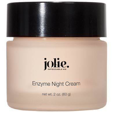 Jolie Papaya Enzyme Night Cream - Facial P.M. Moisturizer With Advanced Hydration