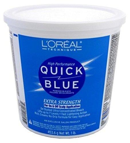 L'Oréal Quick Blue Powder Bleach review