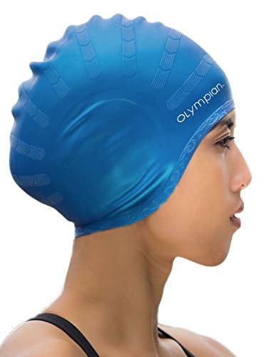 Long Hair Swim Cap - Swimming Caps for Women Men Girls Boy s review