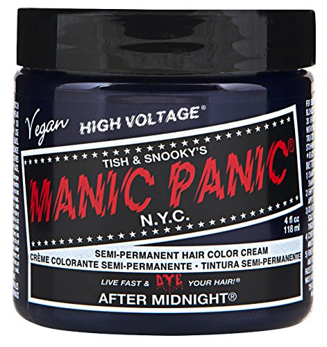 Manic Panic After Midnight Blue Hair Dye Color.