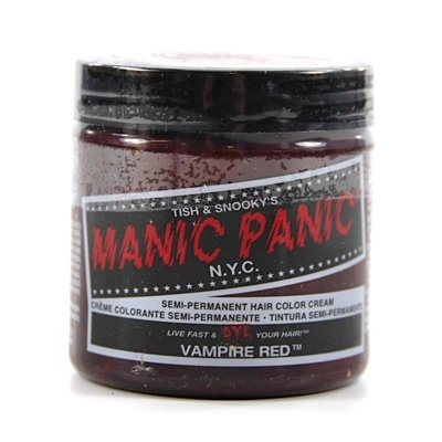 Manic Panic Vampire Red Hair Dye. review