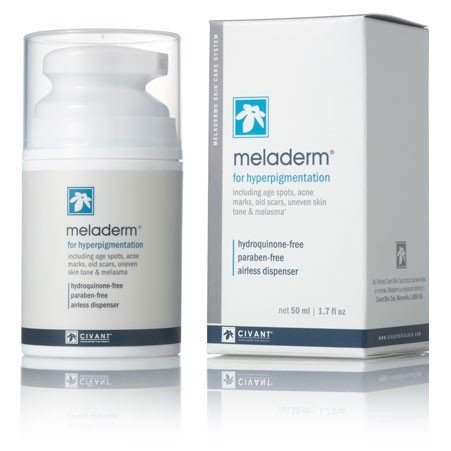 Meladerm 1.7 oz Skin Lightening/Whitening Cream for Hyperpigmentation, Dark Spots, Scars, Discolorations, Uneven Skin Tone