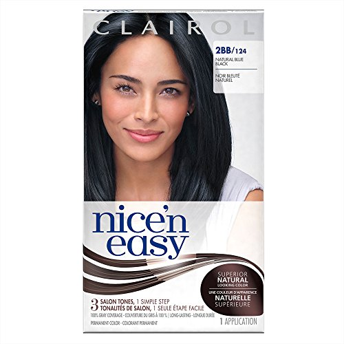 Nice\'n Easy [2BB/124] Natural Blue Black Permanent Hair Color review