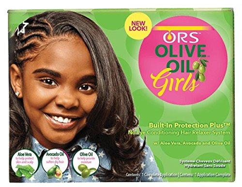 Organic R/S Root Stimulator Girls Relaxer Kit review