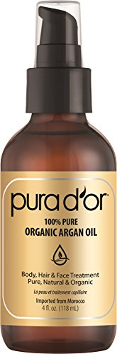 PURA D\'OR Organic Moroccan Argan Oil 100% Pure Cold review