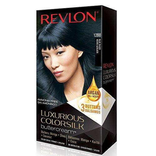 Revlon Luxurious Colorsilk Buttercream, Blue Black review