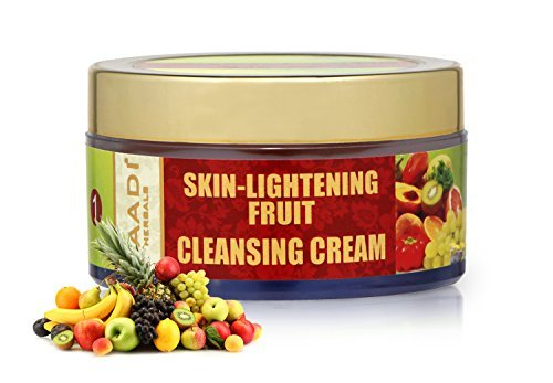 Skin-lightening Fruit Cleansing Cream with Orange Extract, Turmeric Extract, Coconut Milk and Wheat Germ Oil - does it work?