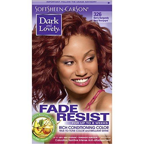 SoftSheen-Carson Dark and Lovely Fade Resist Rich Conditioning Color, Berry Burgundy i review