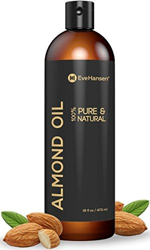 Sweet Almond Oil - Organic Moisturizer for Skin, Face, Body, Hair, Eve Hansen review
