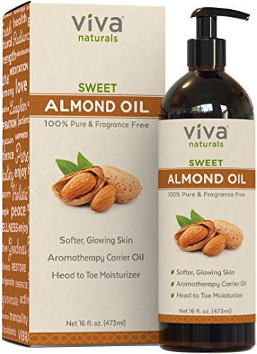 Viva Naturals Sweet Almond Oil 16 fl oz., 100% Pure and Hexane Free review