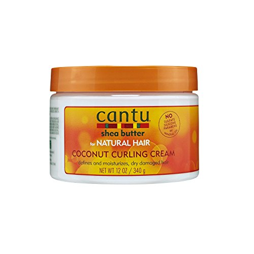 Cantu Shea Butter for Natural Hair Coconut Curling Cream. review